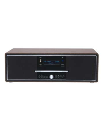 Compacte 6-in-1 stereo radio/cd-speler-Denver MDA-250 dw