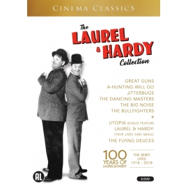 De Laurel & Hardy collectie - 8dvd
