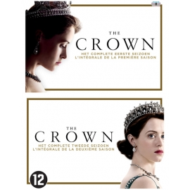 The Crown - seizoen 1 & 2 - 8 dvd