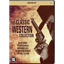 The Classic Western Movie Collection - 5 dvd