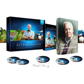 David Attenborough - Autobiografie + 5 DVD-box