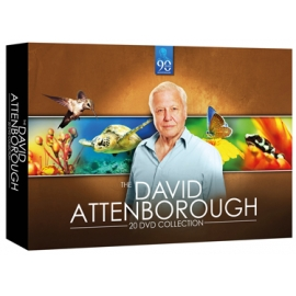 Sir David Attenborough Collectie - 20 dvd