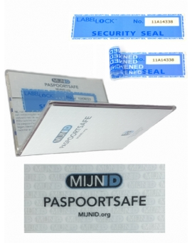Paspoortsafe + 10 sealingstickers