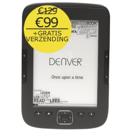 E-ink reader Denver EBO610L