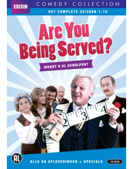 Are you being served - Wordt u al geholpen - 12 dvd